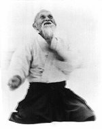 picture of founder of aikido